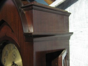 Antique grandfather clock by Herschede Gothic Style